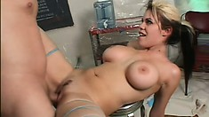 Saucy fetish starlet is addicted to intense and rough plowing