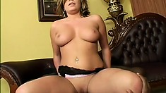 Wild blonde Nicole Banks loves getting stuffed with black man meat