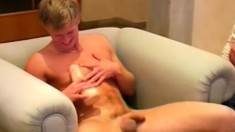 Sexy stripper goes to a crazy stud party and gets his ass banged