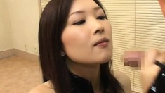 Japanese beauties reveal their passion for fat dicks and warm semen