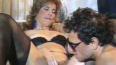 Cock-hungry Shanna wants to swallow this dude's bulging piston