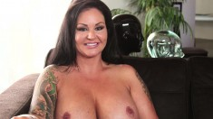 Big breasted milfs can't wait to get their cunts banged by young studs