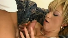 Buxom Paulina Has Her Hung Lover Banging Her Twat All Over The Couch