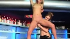 Elizabeth and Sibylle fulfill common desires and fantasies in the bar