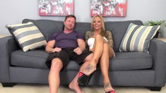 Tattooed Bitch Britney Shannon Smokes His Cock And Gets Banged Hard