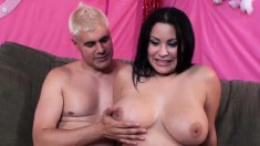 Voluptuous Babe With A Cute Smile Sophia Lomeli Enjoys Strong Orgasms