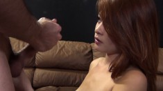 Petite Redhead With A Perky Ass Kim Blossom Gets Drilled Doggy Style