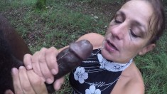 Big Cock Interracial Action For This Honey