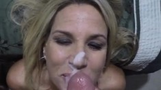Slutty Milf Wife Handjob Milf Mother Cumshot