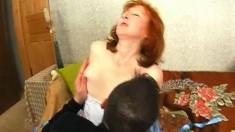 Lingerie Mature Slut In Stockings