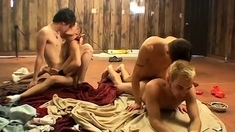 Free goat gay porn and two emo boys sex first time Four