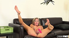 It is such a good thing to have sexy Amber Michaels at your side