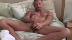 Inked young player can't wait to pump his unyielding fuck stick