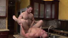 Delicious Hunk Wants A Hot Guy To Swallow His Massive Manhood
