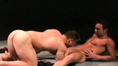 Eager Guy Wants To Fuck This Well-endowed Stud With Huge Muscles