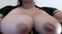 Huge boobs bbw milf webcam