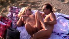 Some Fun Beach Partying At A Topless Beach
